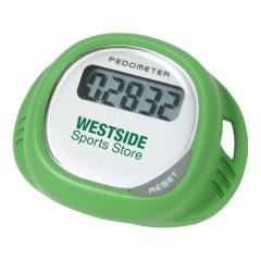 Customized Simple Shoe Pedometer - Green