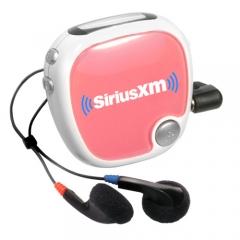 Customized Radio Walk N' Roll Pedometer - Pink