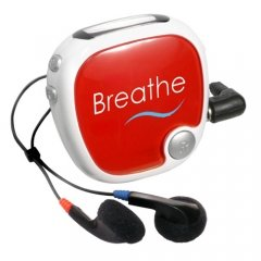 Customized Radio Walk N' Roll Pedometer - Red