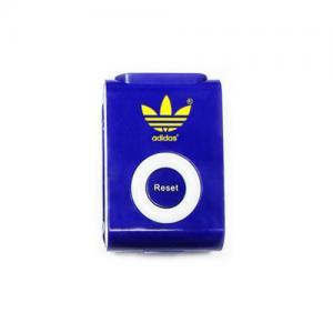 Customized Clip On Upright Pedometer - Customized Walk Trakker Pedometer - Blue
