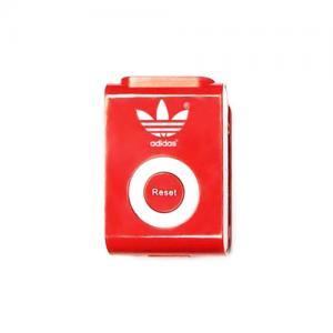 Customized Clip On Upright Pedometer - Customized Walk Trakker Pedometer - Red