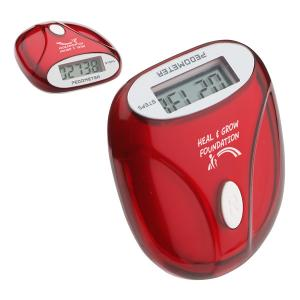 Customized U-Go Step Pedometer - Red