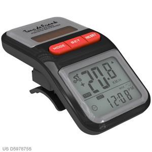Personalized Trail Tracker Bike Odometer - Black