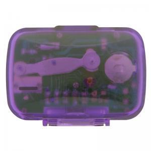 Custom Classic Pedometer w/ Clock - Purple