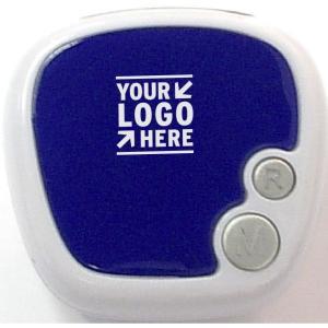 Customized Multifunction Pedometer - Blue