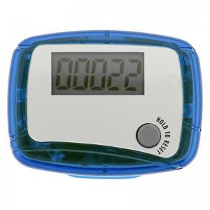 Personalized Marathon Pedometer - Translucent Blue